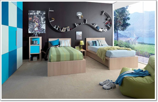 35 amazing kids room design ideas to get you inspired for Emo bedroom ideas