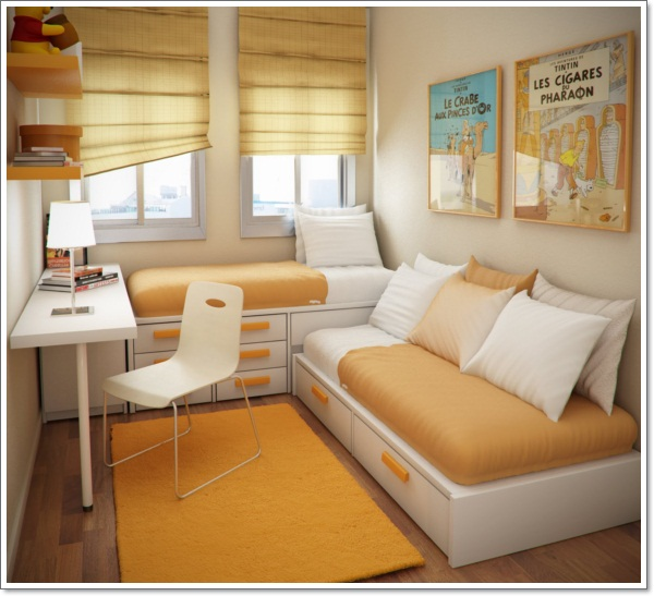 Design-Ideas-_-Small-Floorspace-Kids-Rooms-Fresh-Orange