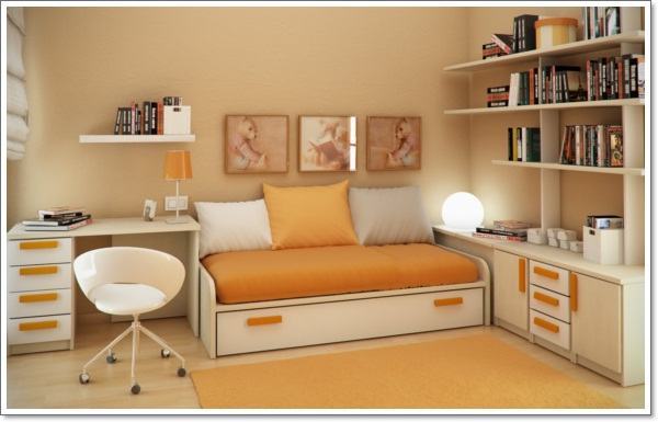 Design-Ideas-_-Small-Floorspace-Kids-Rooms-Yellow-White