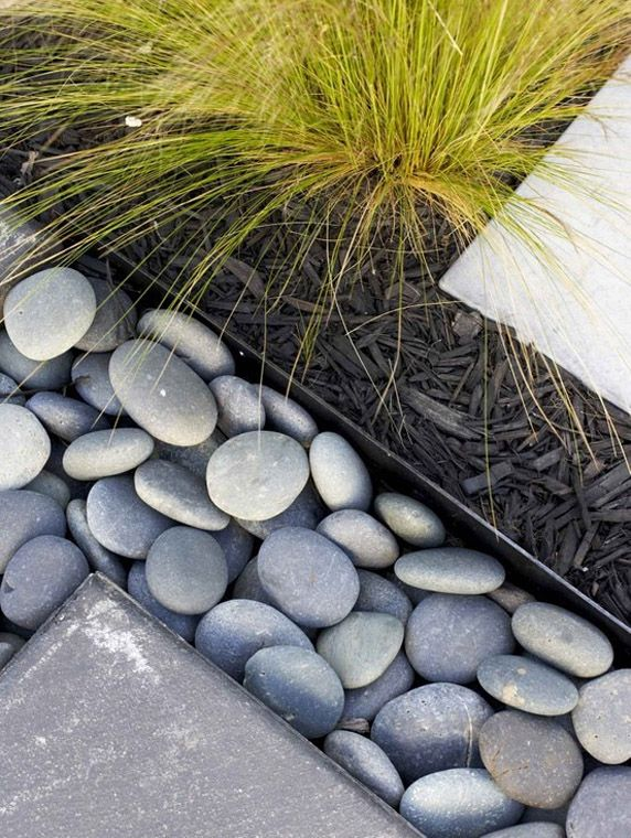 Garden Edging Ideas stone