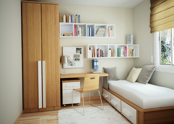 35 inspiring ideas to make your small bedroom look larger - Bedroom Look Ideas