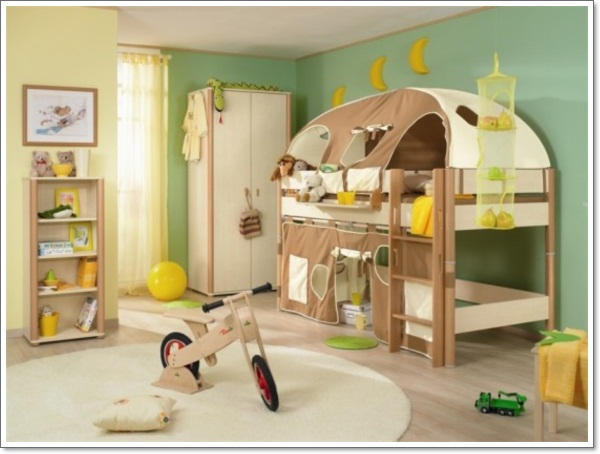 35 amazing kids room design ideas to get you inspired for Children s bathroom designs