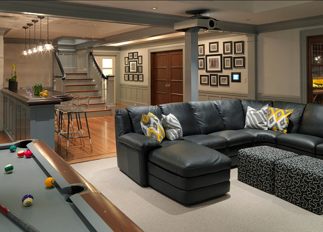 20 fantastic family room decorating ideas for Pool room design uk